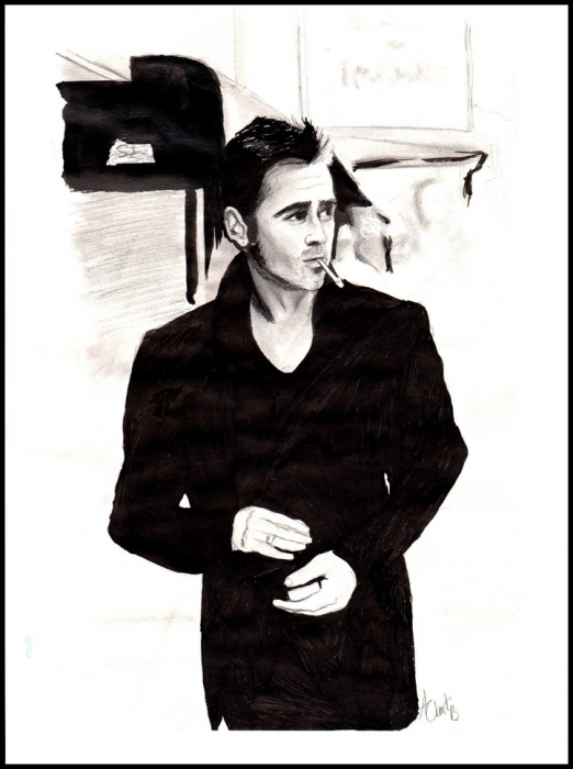 Colin Farrell by aurore.clement